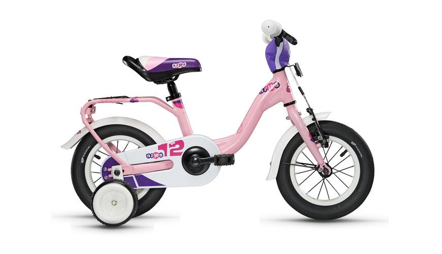 s'cool niXe 12 Rower dziecięcy  różowy